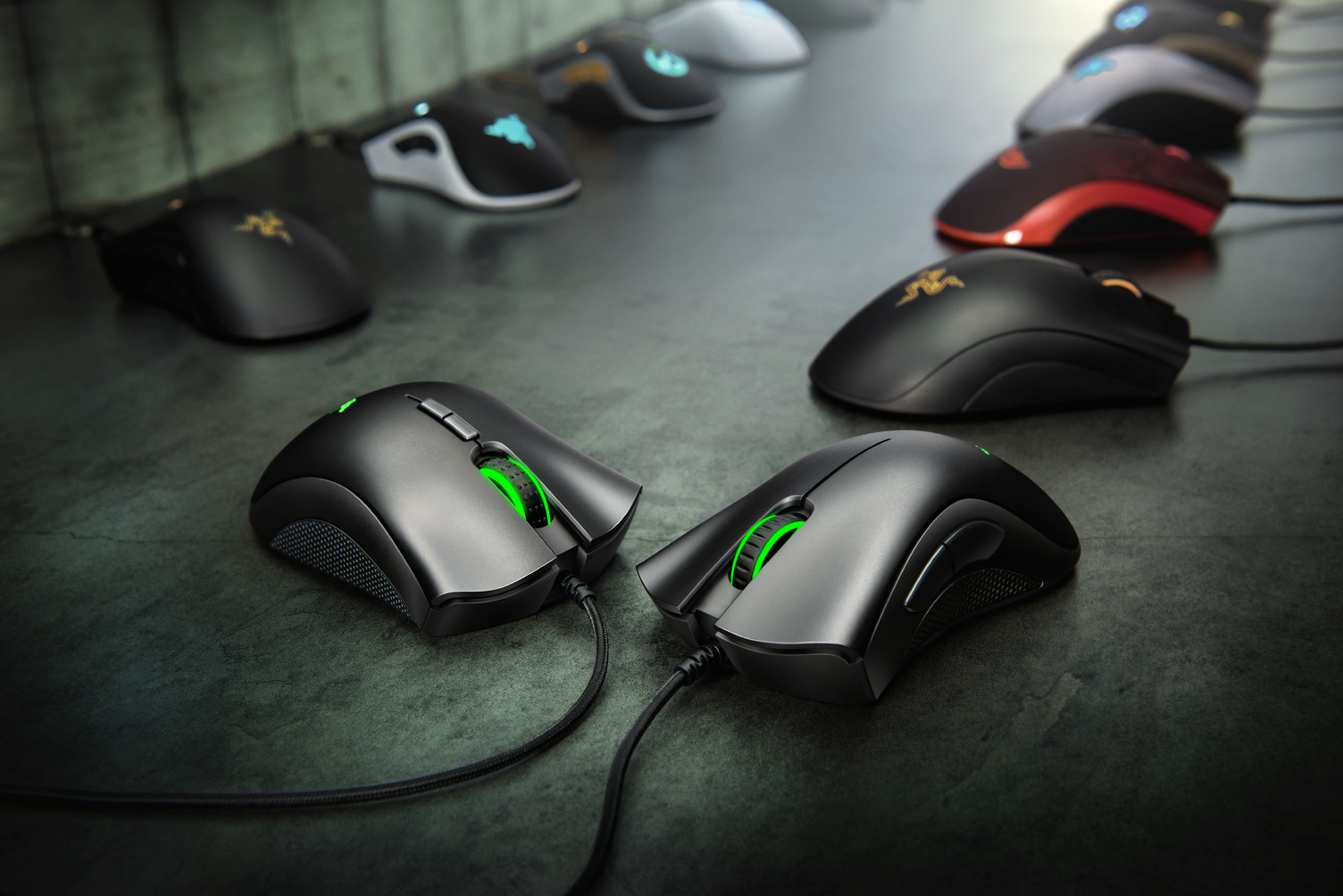 Deathadder Essential Deathadder Elite 2018 Gallery Concept Shoot Chroma Old Deathadder Mice 1